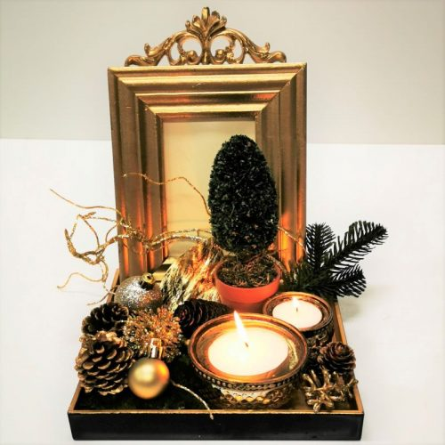 Franc Gold Decor Vignette