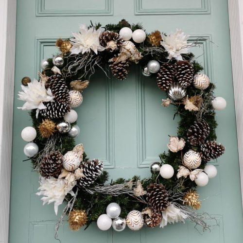 Designer Christmas Wreath