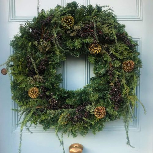 Franc Woodland Christmas Wreath1