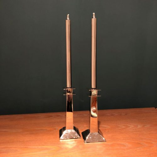 ranc oil Candles on Candlesticks
