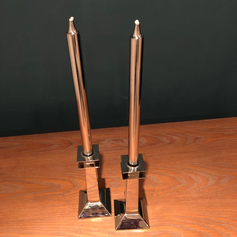 Franc oil Candles on Candlesticks1