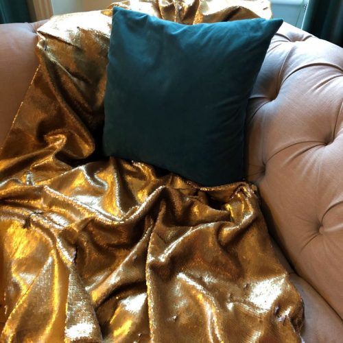 Gold Sequin Blanket2